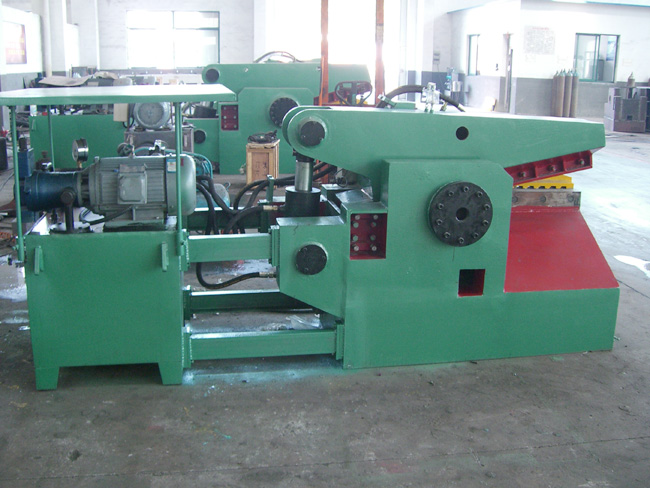 Q43鳄鱼式一体液压剪切机金属剪切机